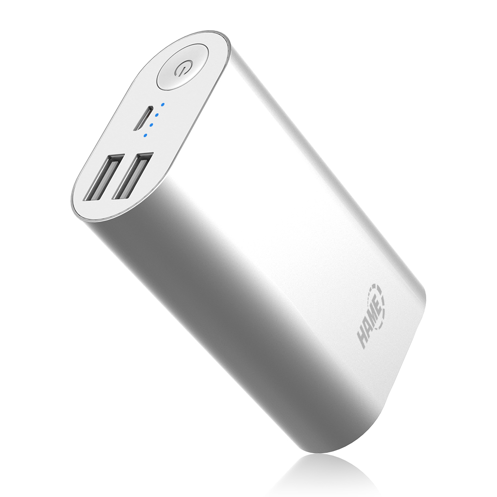 HAME Power Bank, H16 11000 mAh iPhone Charger Ultra Compact External Battery Portable USB Charger for Iphone 6 5s 5c 5, Ipad Air Mini, Galaxy S5 S4, Tab 2, Note 3 4, Lg G3, Nexus, HTC One M8, Moto X S